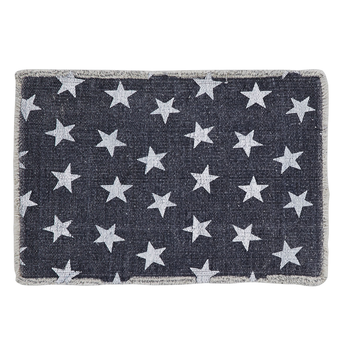 Multi Star Navy Placemat, Set of 2