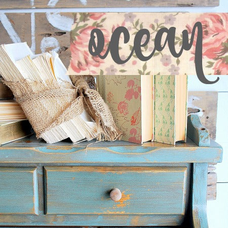 Sweet Pickins Milk Paint, Ocean