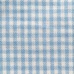 Homespun Cotton, Pale Blue/White Minicheck