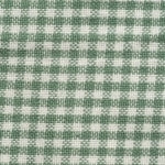 Homespun Cotton, Pale Green/White Minicheck