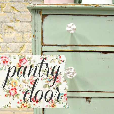 Sweet Pickins Milk Paint, Pantry Door
