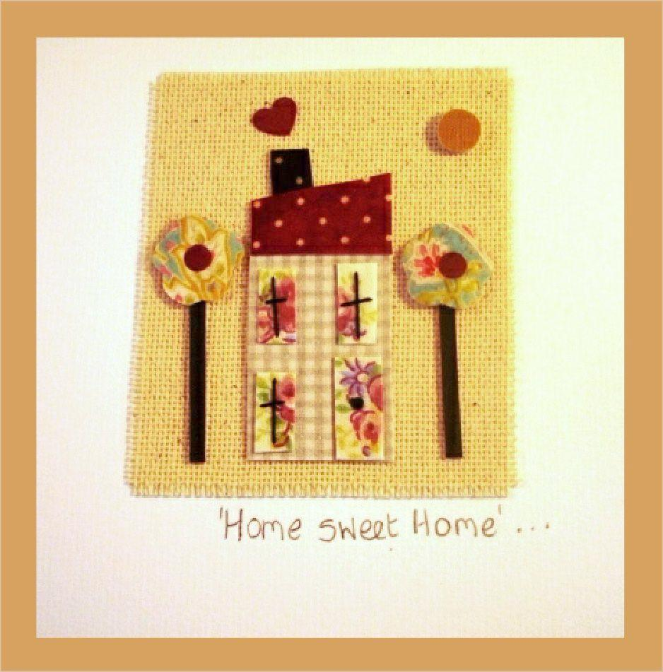 Patchwork Home Sweet Card