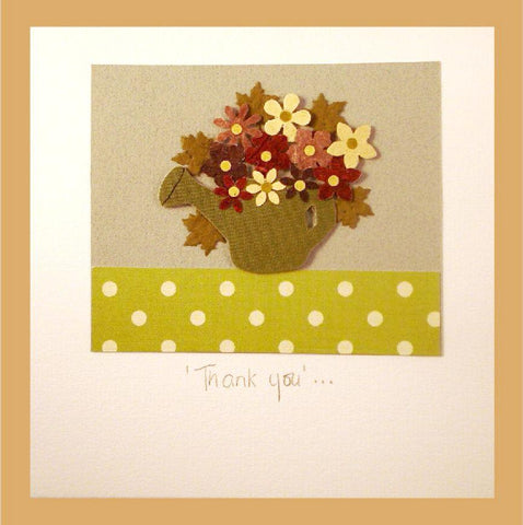Patchwork  Thank You Card