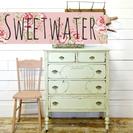 Sweet Pickins Milk Paint, Sweet Water