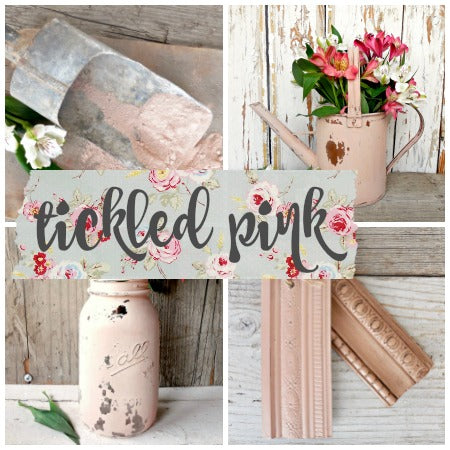 Sweet Pickins Milk Paint, Tickled Pink