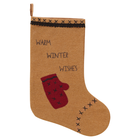MITTENS CHRISTMAS STOCKING