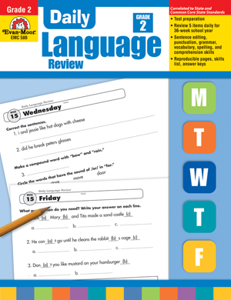 Daily Language Review (Grades 1-8)