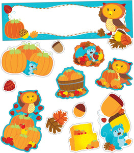Fall Mini Bulletin Board Set