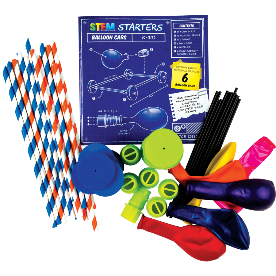 STEM Starters: Balloon Cars