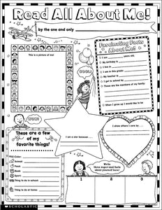 Read All About Me! Grades K-2
