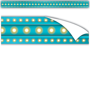 Light Blue Marquee Clingy Thingies¨ Strips