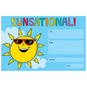 So Much Pun! Sunsational! Award