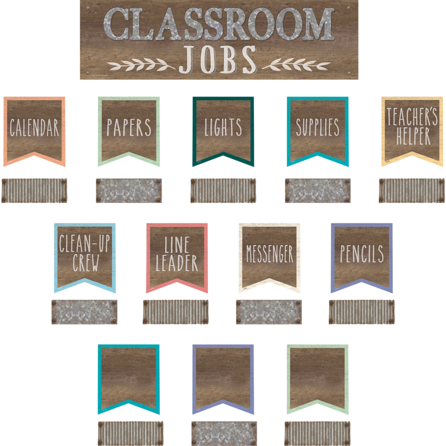 Home Sweet Classroom Classroom Jobs Mini Bulletin Board