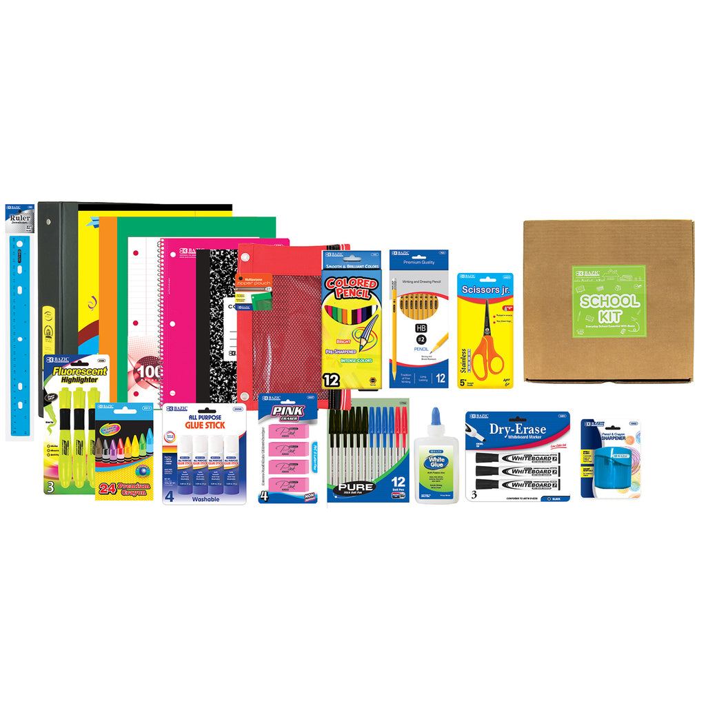 Essential School Supply Materials (At Home Learning)