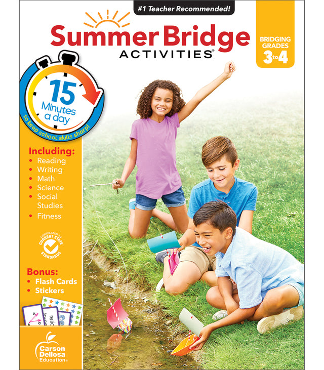 Summer Bridge Activities® Workbooks (PK - 8th)