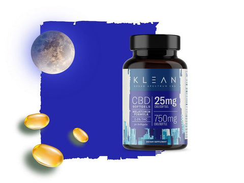 KLEAN Softgels with Melatonin - DoYouHemp
