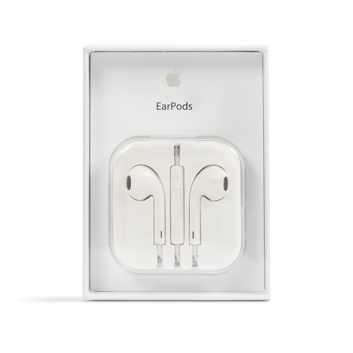 Apple 3.5 Earpods OEM Original Stereo Headphones w/ Inline Control - White (MD827M/B) - Mac-Warehouse Online Store