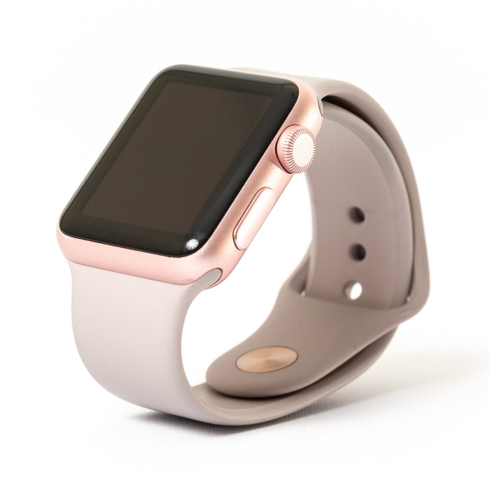 Apple Apple Watch, Rose Gold Aluminum Case with Lavender Sport Band - Mac-Warehouse