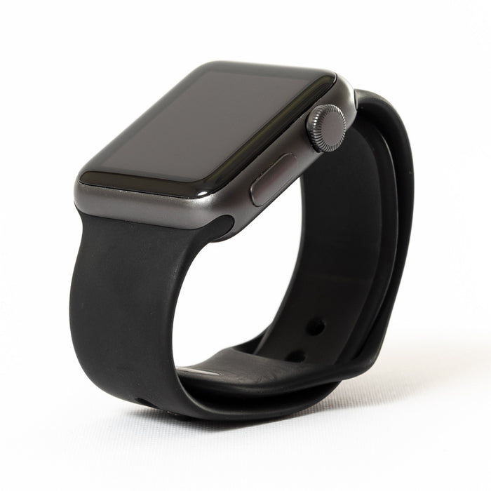 Apple Watch, Space Gray Aluminum Case with Black Sport Band