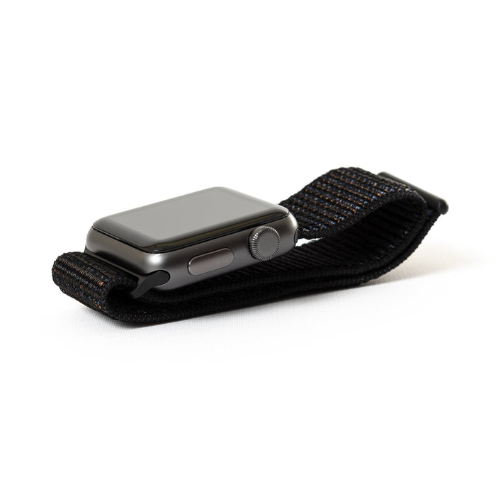 Apple Watch, Space Gray Aluminum Case with Black Woven Band