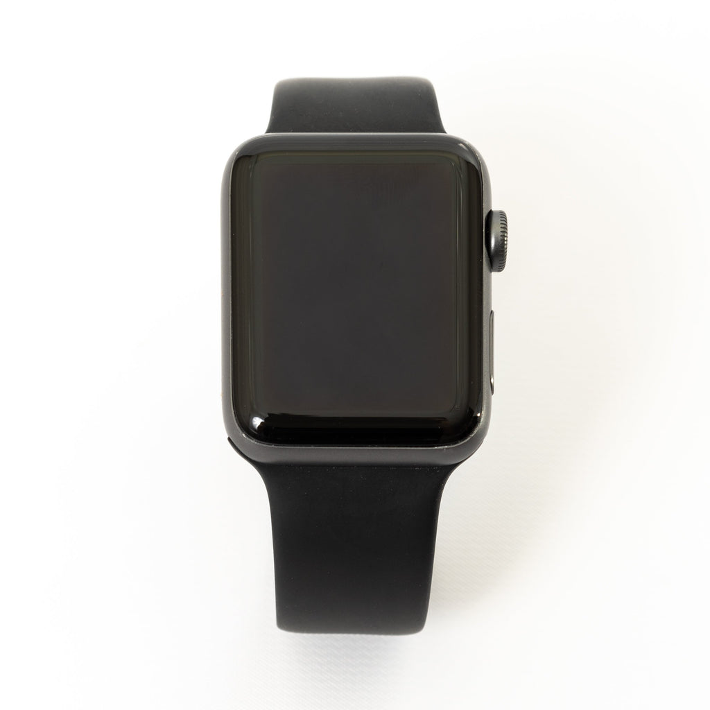Apple Apple Watch, Space Gray Aluminum Case with Black/Gray Nike Sport Band - Mac-Warehouse