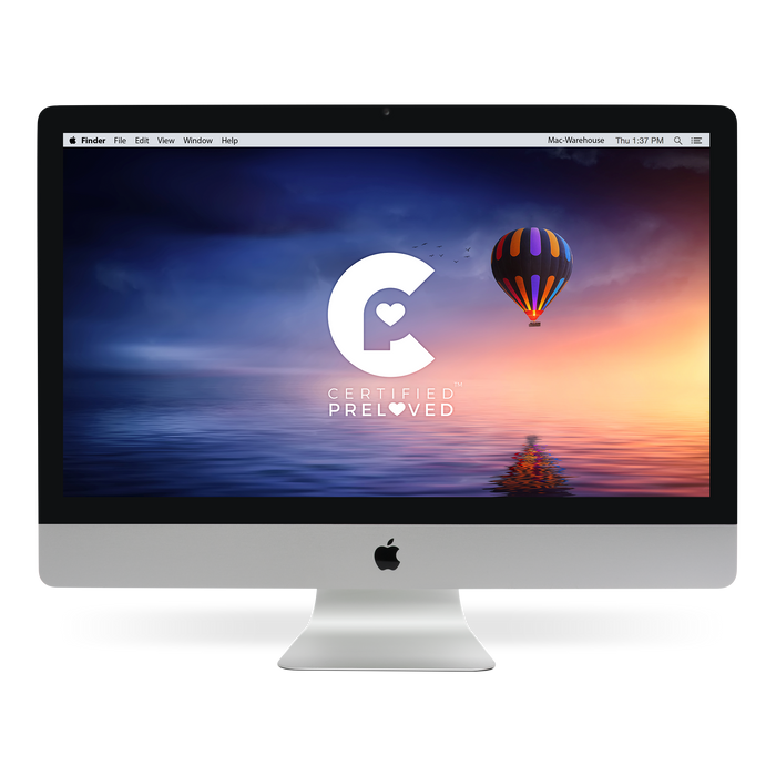 Apple iMac 27-inch (MC813LL/A) - Mac-Warehouse Online Store