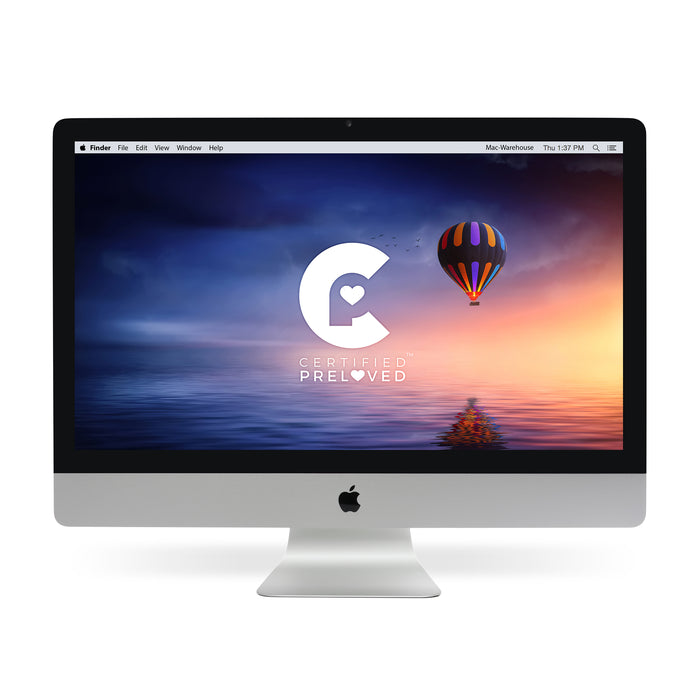 "Apple iMac Ultra Thin 27"" QCi7 3.5 32GB RAM 1TB Fusion (MF125LL/A) - Mac-Warehouse Online Store"