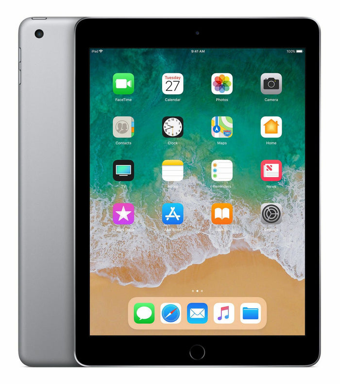 "Apple iPad 6th Gen 9.7"" Screen (MR7F2LL/A) 32GB Wifi-Only Space Gray - Mac-Warehouse Online Store"
