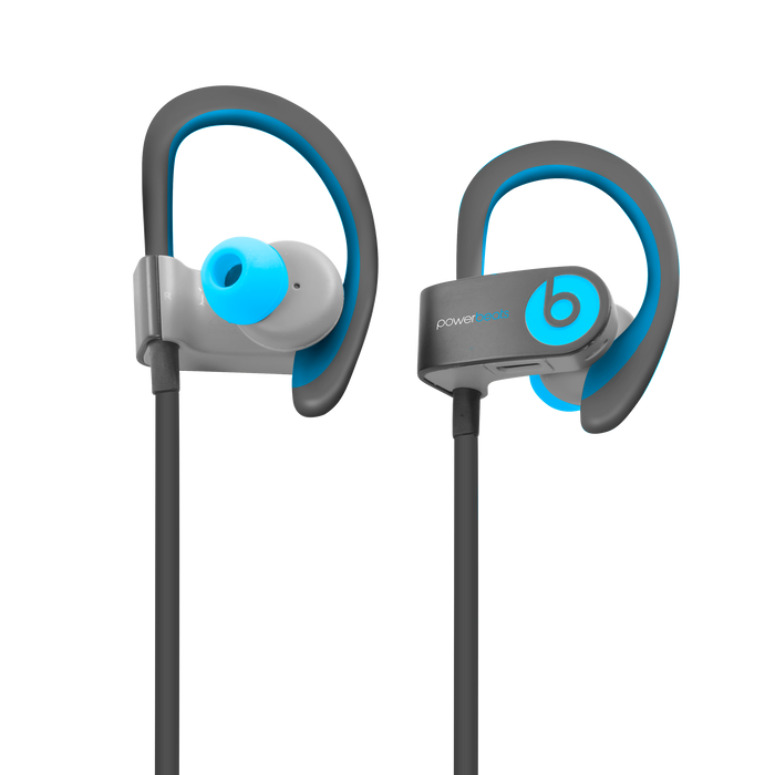 Beats by Dr Dre PowerBeats 2 Wireless (Flash Blue) - Mac-Warehouse