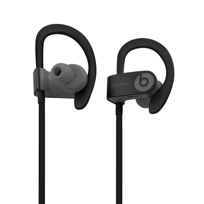 Beats by Dr Dre PowerBeats Wired (Black) - Mac-Warehouse