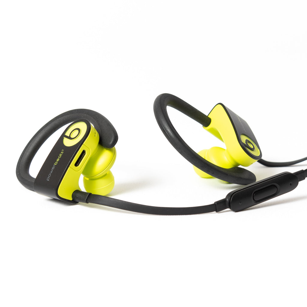 Beats by Dre PowerBeats 3 Wireless (Shock Yellow) - Mac-Warehouse