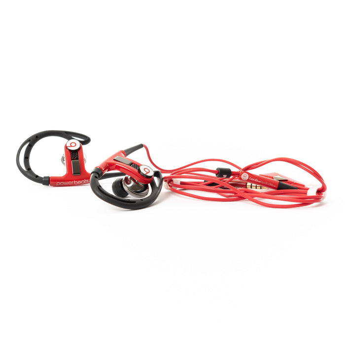 Beats by Dr Dre PowerBeats Wired (Red) - Mac-Warehouse