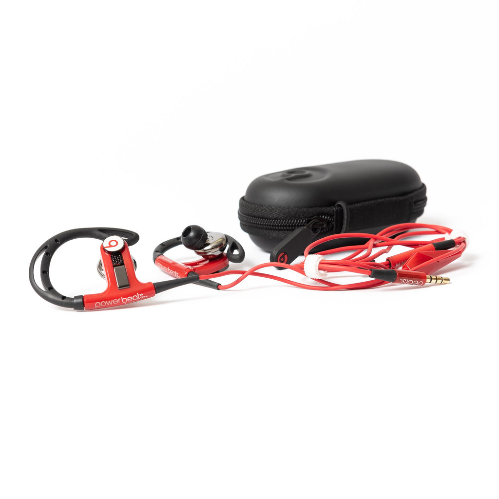 Beats by Dre PowerBeats Wired (Red) - Mac-Warehouse