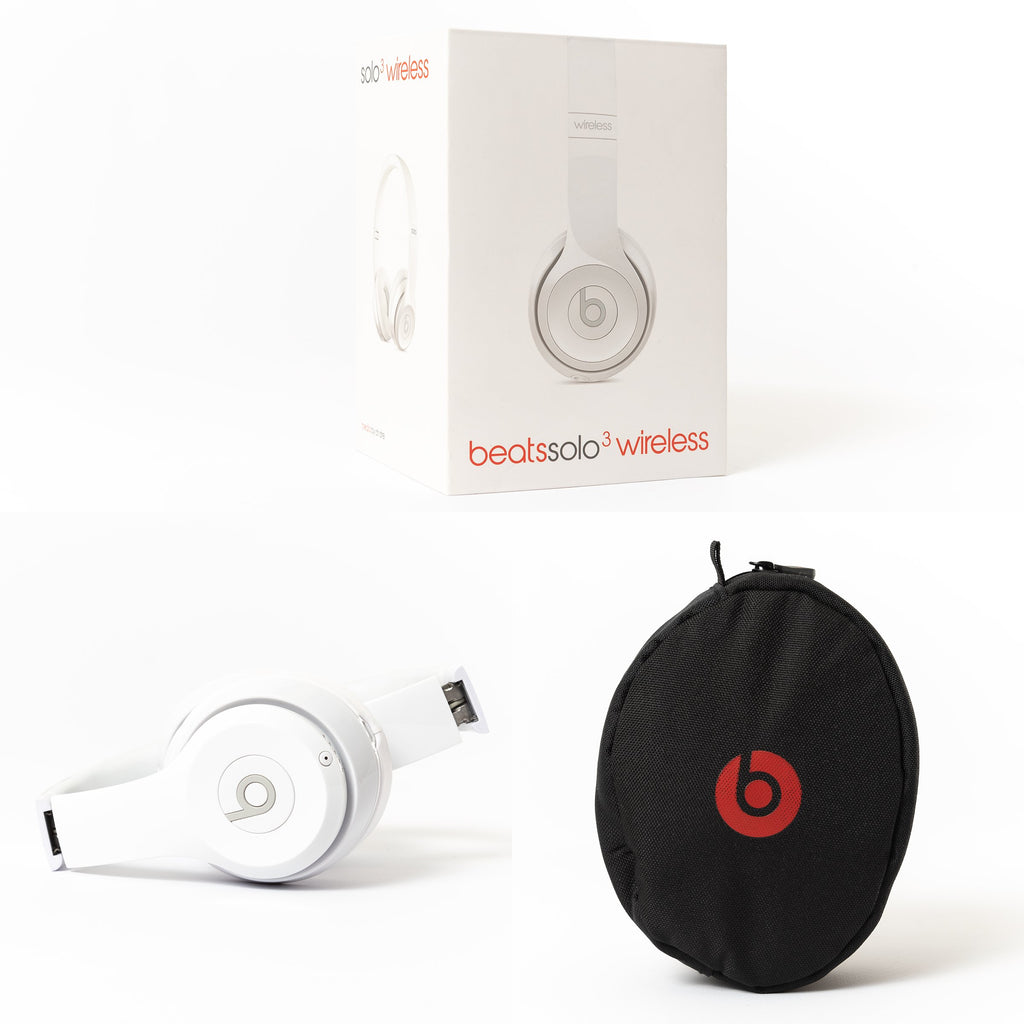 Beats by Dre Beats by Dre Over-Ear Solo 3 Wireless, Gloss White - Mac-Warehouse
