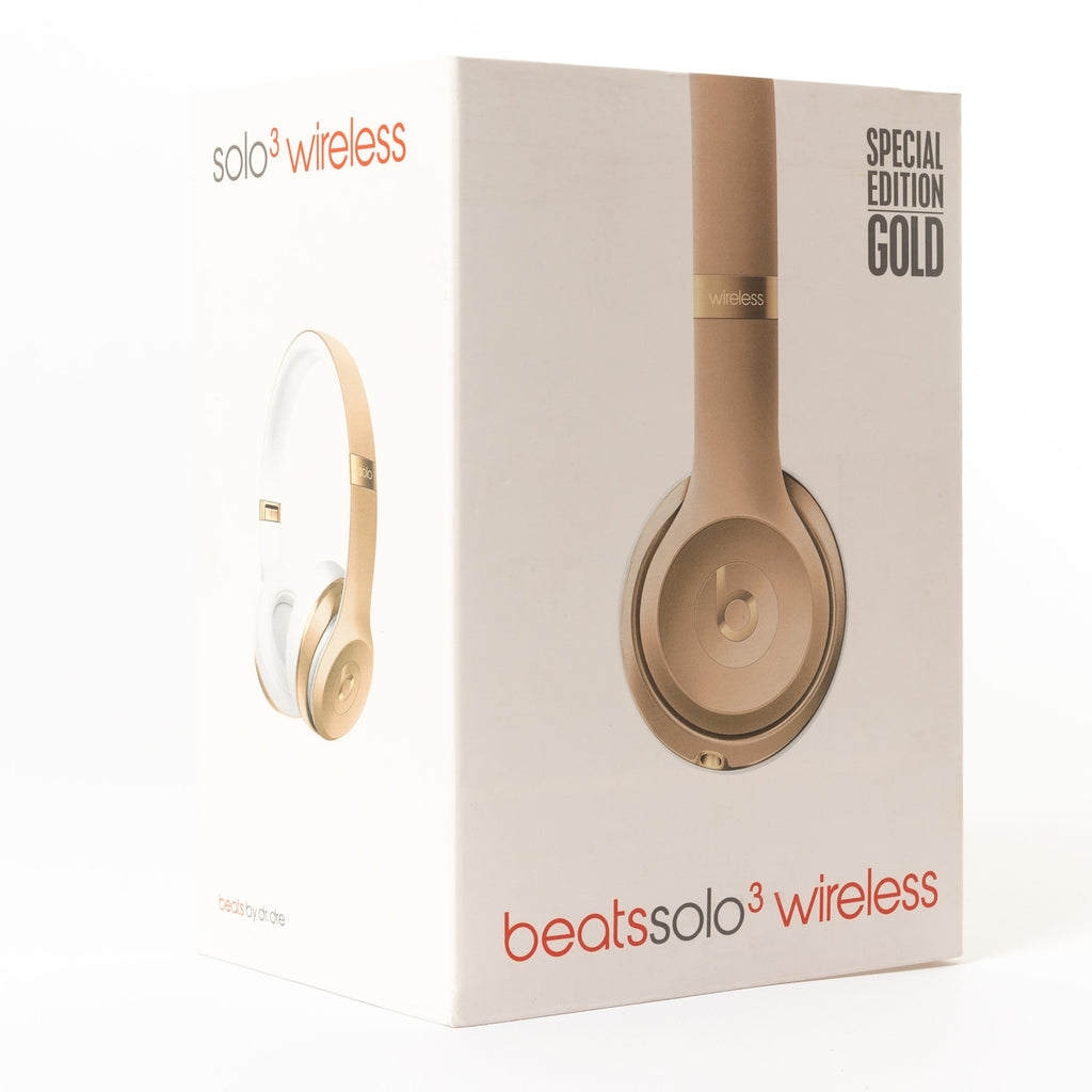 178d3790220 Beats Solo 3 Wireless Headphones, Gold B Grade – Mac-Warehouse ...
