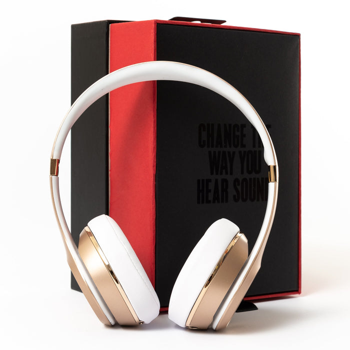 Beats by Dr Dre Beats Solo 3 Wireless (Gold) - Mac-Warehouse