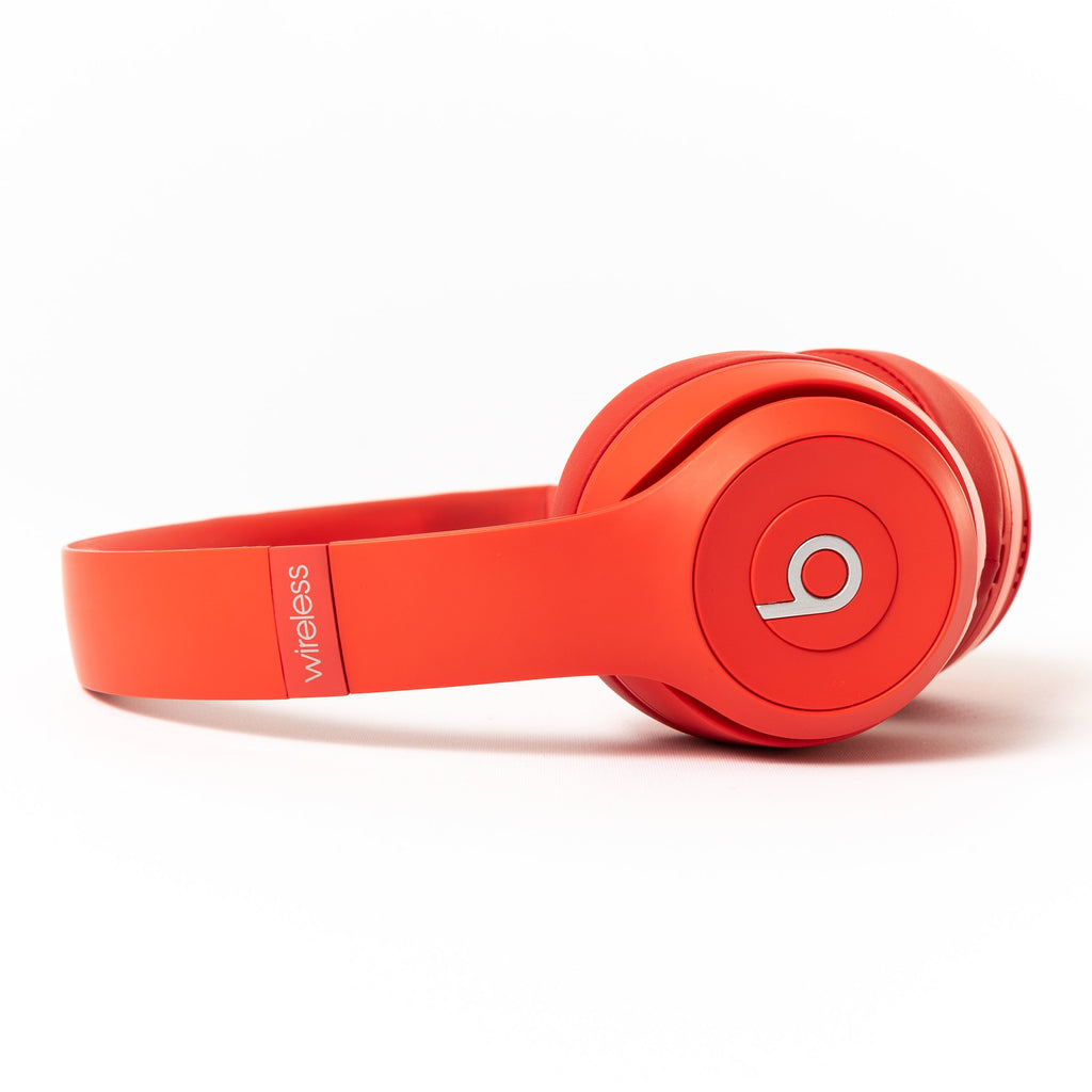 Beats by Dre Beats Over-Ear Solo 3 Wireless (Red) - Mac-Warehouse