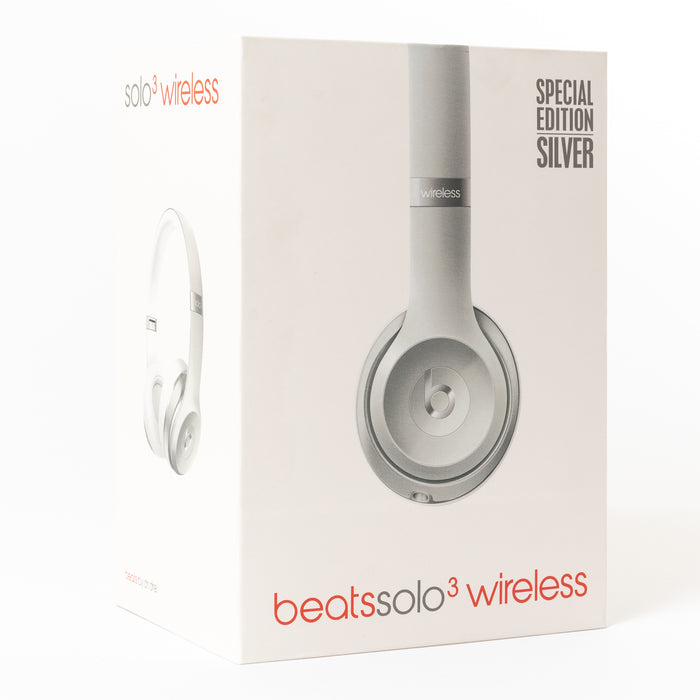 Beats Over-Ear Solo 3 Wireless (Silver) B Grade