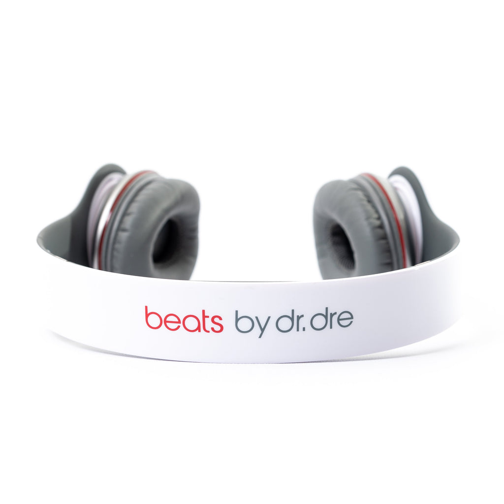 Beats by Dre Beats Solo HD Wired (White) - Mac-Warehouse