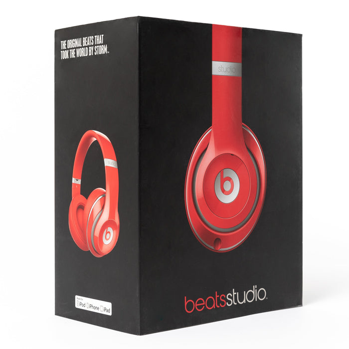 Beats by Dre Beats Studio 2.0 Wired (Red) - Mac-Warehouse