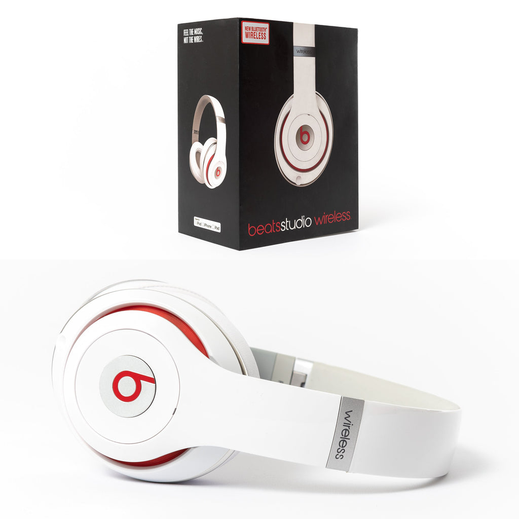 Beats by Dre Beats Studio 2.0 Wireless (White) - Mac-Warehouse