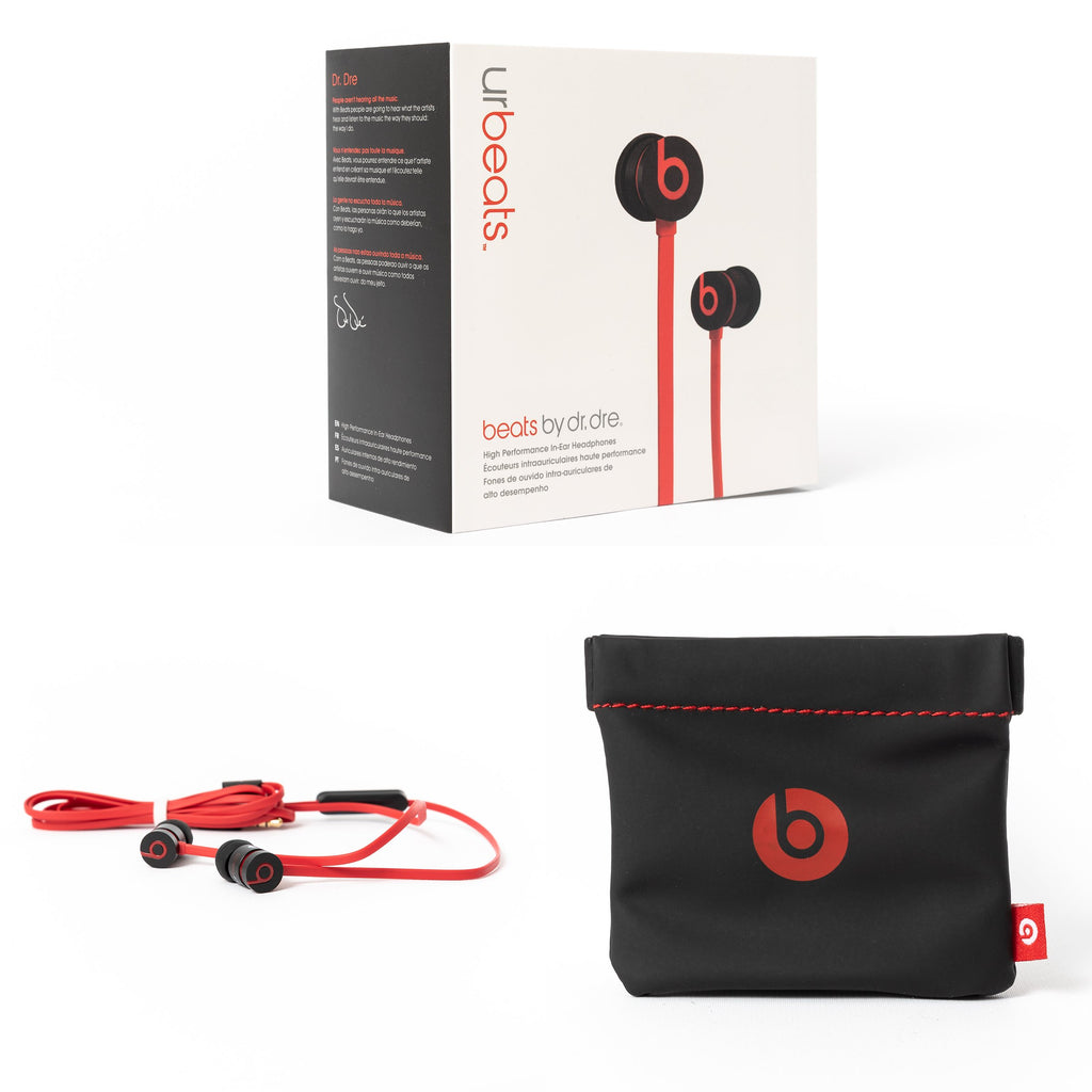 Beats by Dre urBeats 2 Wired (Black Red) - Mac-Warehouse