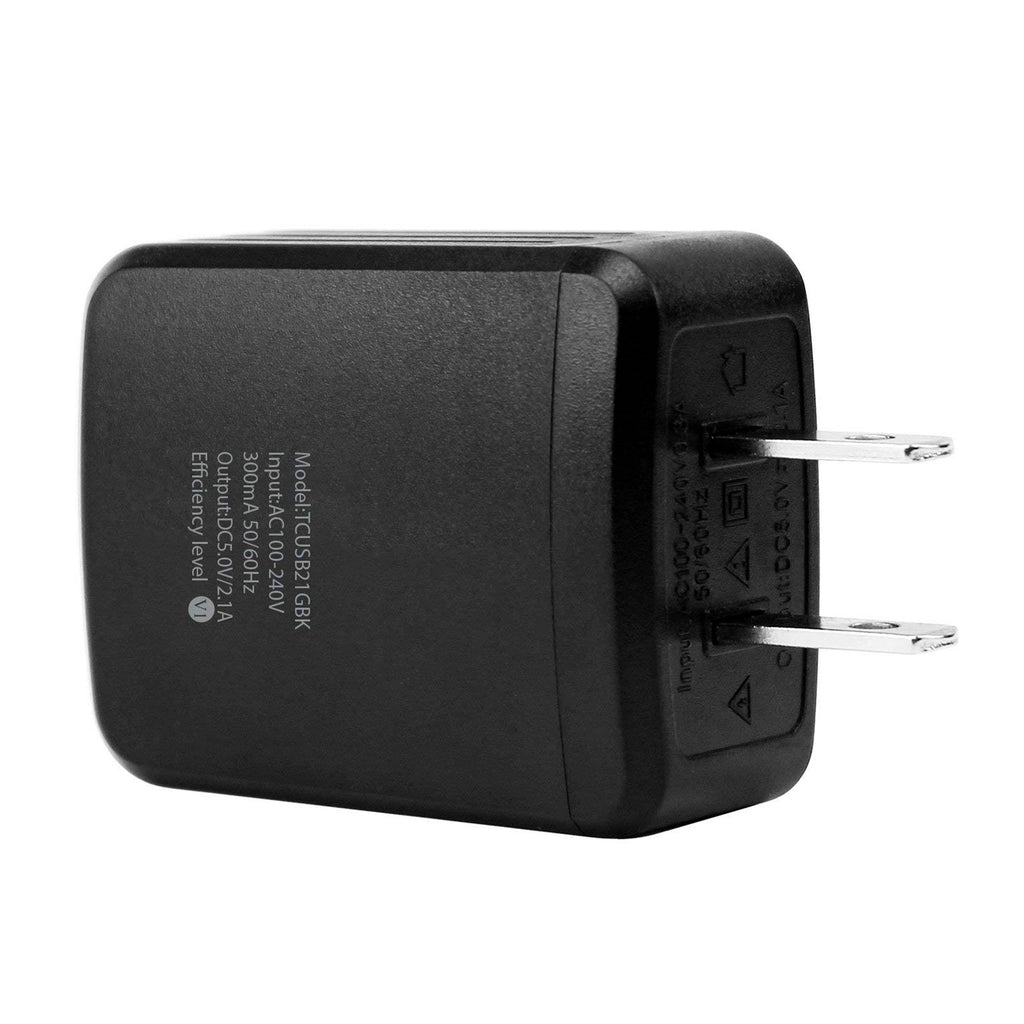 CyonGear CyonGear 10W Charger Block USB to Wall (TCUSB21GBK) - Mac-Warehouse