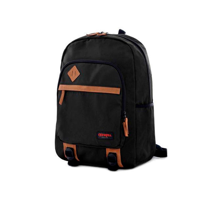 Olympia 15.6-inch Laptop Backpack (Black)