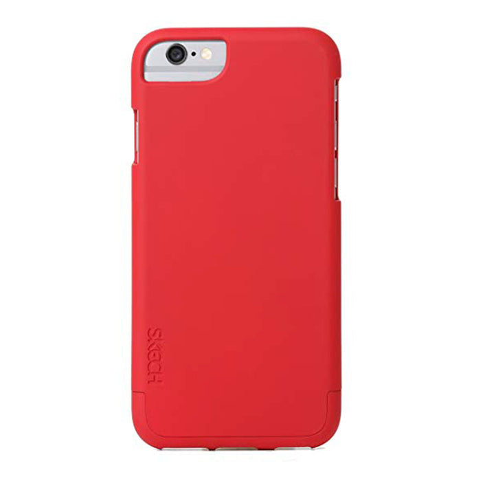 Sketch Skech iPhone 6 Hard Rubber Case (Red) - Mac-Warehouse