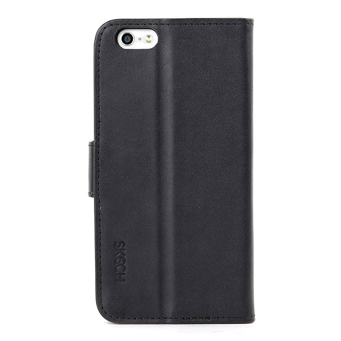 Skech iPhone 6 Plus Polo Book Wallet Case (Black)