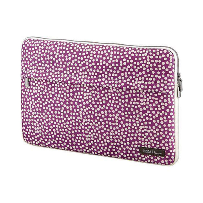 Targus 15.6-inch Laptop Sleeve (Dots Violet Lotta)