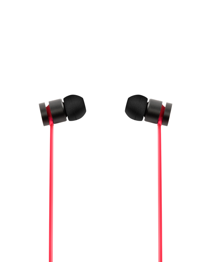 Beats by Dr Dre urBeats 2 Wired (Black Red) - Mac-Warehouse