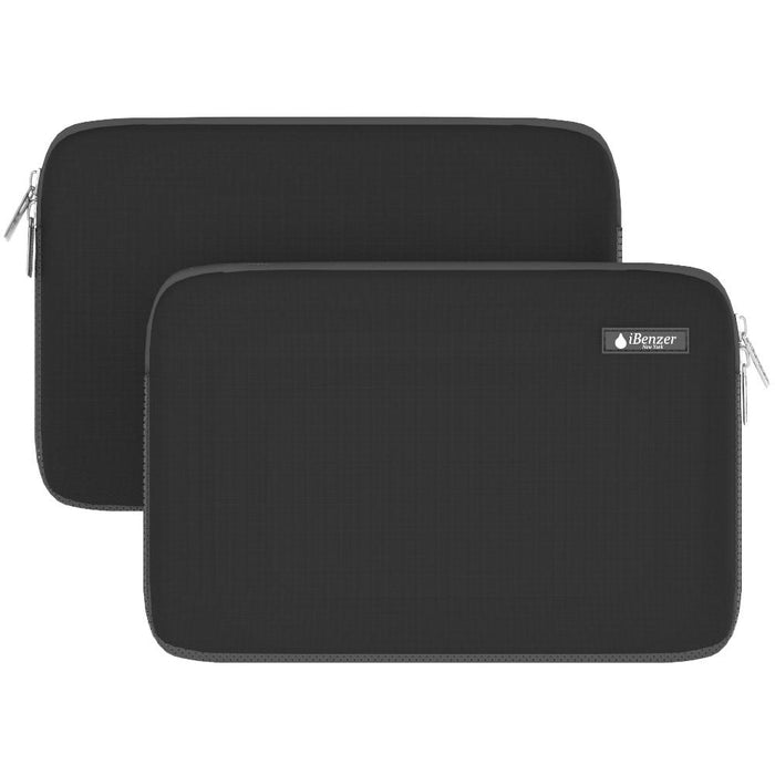 iBenzer iBenzer Deluxe Neoprene Laptop Sleeve Up to 13.3-inch Case Black (BH-MP13BK) - Mac-Warehouse