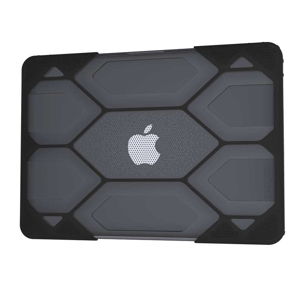 iBenzer iBenzer Hexpact Macbook Air 13-inch Case Black (LC-HPE-A13BK) - Mac-Warehouse